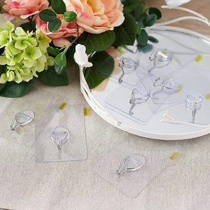 Set of 8 Magic Glass Wreath Hangers by Valerie